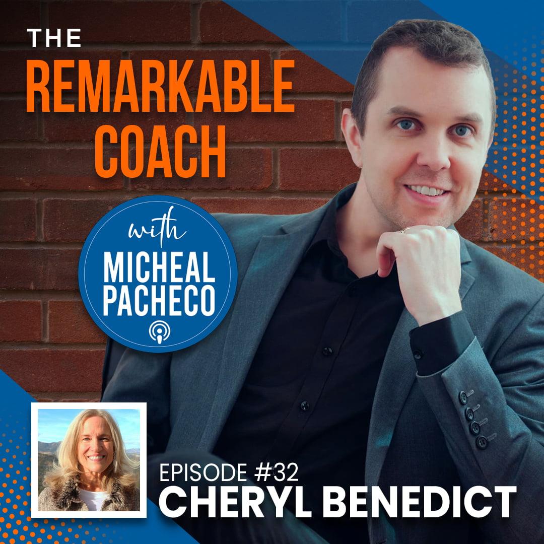 Episode 032 - Cheryl Benedict - Thumbnail Square